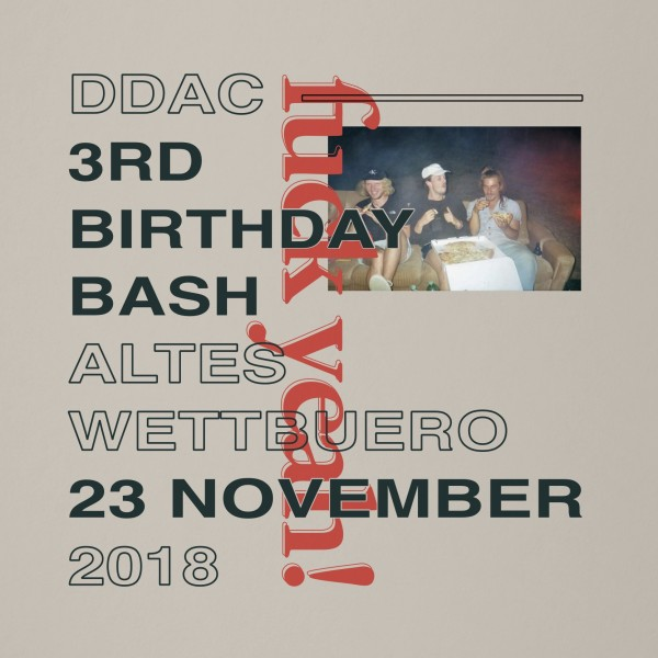 DDAC - 3rd Birthday Bash